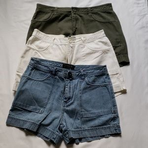 3 pair shorts by LEE